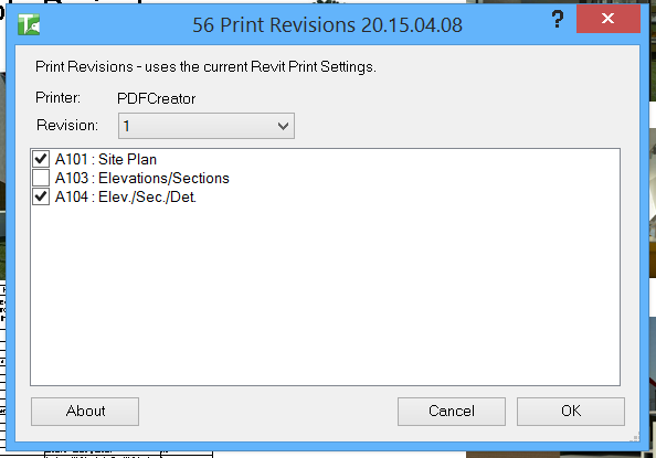 56 Print Revisions